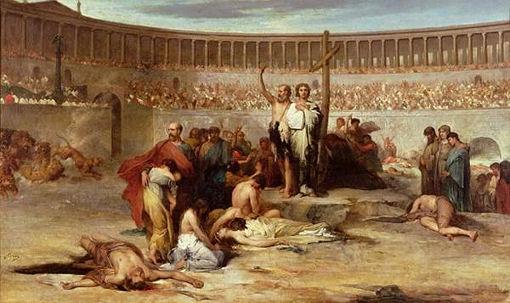 Znalezione obrazy dla zapytania chrześcijanie  rzymskim